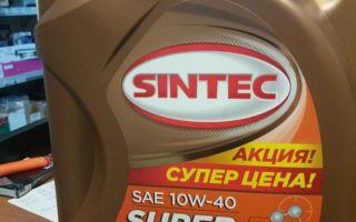 Масло для мотора Sintec 10W-40 — отзывы пользователей, характерные свойства, цена