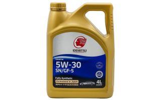 Свойства и возможности моторного масла Idemitsu 5W-30
