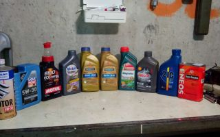 Рекомендованные моторные масла — рейтинг масел 2019 синтетика