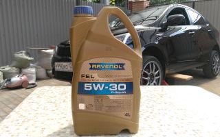 Автомобильное масло Ravenol 5W-30 — свойства, стоимость и отзывы о продукте