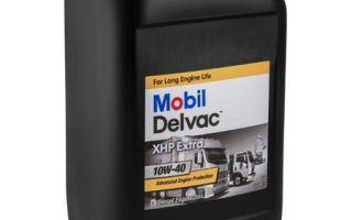 Технические параметры и отзывы о масле Mobil Delvac XHP Extra 10W-40