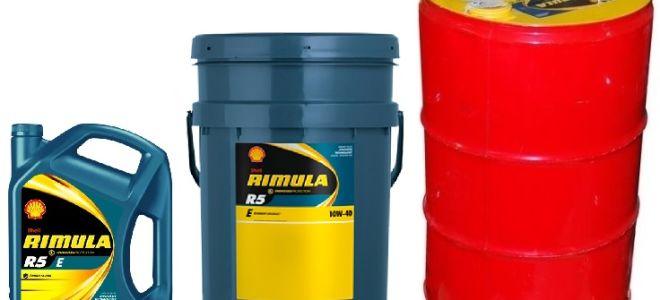 Масло для дизельных моторов Shell Rimula R5 10W40