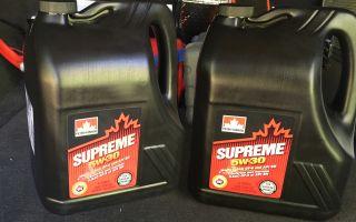 Смазочный состав Petro Canada 5W-30 — характеристики масла, отзывы