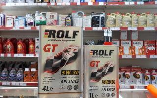 Какими характеристиками и качествами обладает масло ROLF 5W-30