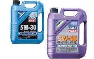 Масла для мотора 5W40 и 5W-30 — главное отличие продуктов