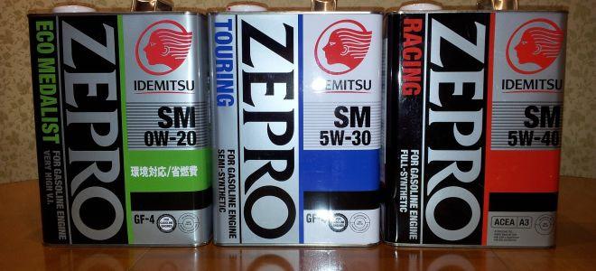 Специфика использования и параметры масла Idemitsu 0W-40