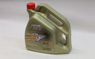 Где и каким образом используется масло Castrol 5W-40