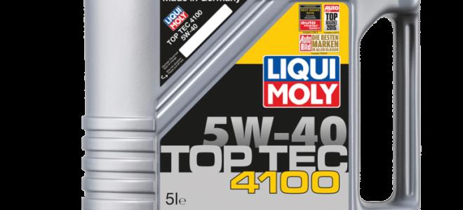 Обзор на моторное масло Liqui Moly Top Tec 4100 5W-40