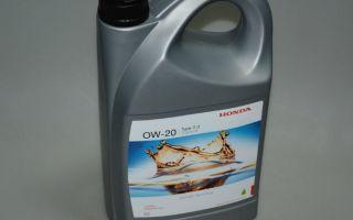 Масло для мотора Honda 0W-20 — цена и тех.характеристики, отзывы водителей