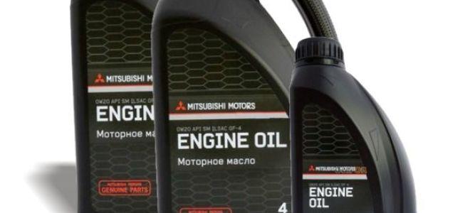 Оригинальные синтетические масла Mitsubishi 5W-30