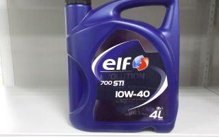 Какими свойствами и возможностями обладает масло ELF Evolution 700 STI 10W-40