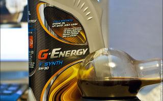 Обзор масла G-Energy 5W-30 — характерные особенности и стоимость