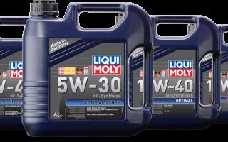 Для каких автомобилей подходит масло LIQUI MOLY 5W-30 (синтетика)