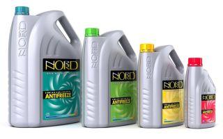 NORD — особенности использования антифриза, состав, свойства, цвет
