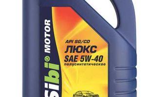 Смазки для мотора 5W-40 (полусинтетика) — расшифровка и характеристики