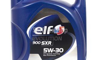 Свойства и характеристики Эльф Эволюшн 900 SXR 5W-30