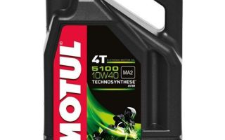 Характеристики моторного масла Motul 5100 10W-40: отзывы и цена