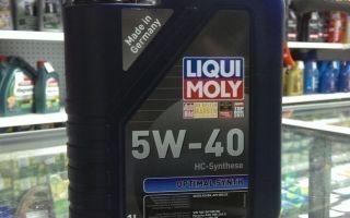 Особенности использования и характеристики масла LIQUI MOLY 5W-40 Optimal Synth