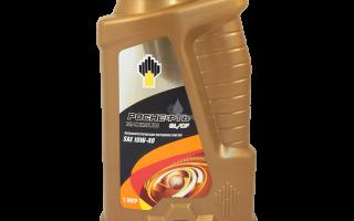 Особенности и характеристики масляного продукта Роснефть 10W-40