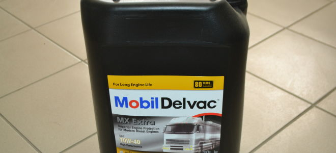 Какими свойствами и параметрами обладает масло Mobil Delvac MX Extra 10W-40