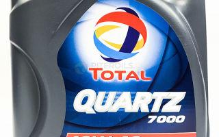 Свойства масла Total Quartz 7000 10W-40