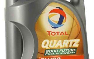 Специфика использования и технические характеристики Total Quartz 9000 5W-30