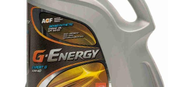 Масло для мотора G-Energy S Synth 10W-40 — тех характеристики, цена и отзывы