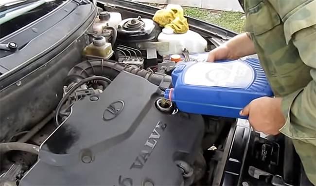Какое масло лить в приору 126 мотор